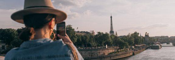 Touriste à Paris